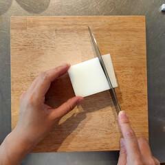 包丁 グローバル 三徳包丁 G-46 選べるオマケC特典 | グローバル(三徳包丁)を使ったクチコミ「メラミンスポンジが包丁で 切れるって知っ…」