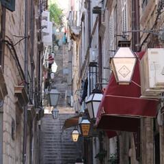 アドリア海/クロアチア/ドゥブロブニグ/街角/ヨーロッパ/はじめてフォト投稿 クロアチア ドゥブロブニグ街角(1枚目)