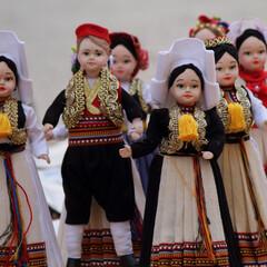 クロアチア/ドゥブロブニグ/民族衣装/人形/はじめてフォト投稿 クロアチア ドゥブロブニグで見つけた民族…
