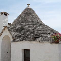 ヨーロッパ/アルベロベッロ/建物/三角屋根/エーゲ海/はじめてフォト投稿 アルベロベッロのかわいい建物
