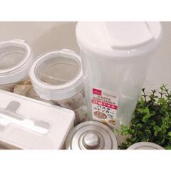 RÅSKOG ロースコグ ワゴン   イケア(キッチンワゴン)を使ったクチコミ「パスタケースは最近ダイソーで見つけたコレ…」