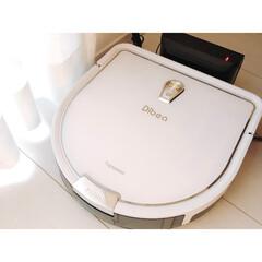 Dibea D960 ロボット掃除機 交換用消耗品(ロボット掃除機)を使ったクチコミ「初めてのロボット掃除機♡ 掃除だけでなく…」