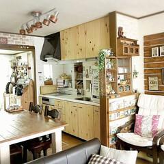 雑貨好き/暮らし/インテリア/LIMIA/カフェコーナー/IKEAのソファー/... 我が家のリビング ダイニング あちこちD…