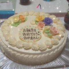 お誕生日会/暮らし/フォロー大歓迎 22日 お誕生日でした  大好きなバター…