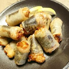 春巻の皮/鶏から揚げ/唐揚げ/晩ごはん/簡単レシピ/創作料理/... 【💞パリパリ唐揚げ💞】  唐揚げ にしよ…