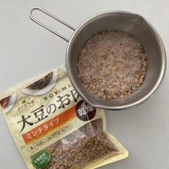 大豆ミート/防災/limiaキッチン同好会/収納/キッチン/暮らし/... 最近は料理に大豆ミートを取り入れてます(…