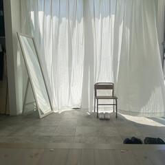 玄関土間/玄関インテリア/家づくり/おしゃれ/暮らし 玄関の土間スペースです(^^)  フルオ…(1枚目)