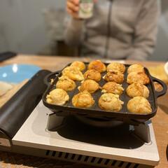 フッ素加工 たこ焼きプレート CB-P-TAF/ イワタニ   イワタニ(たこ焼き器)を使ったクチコミ「おうちパーティーといえば、 やっぱりたこ…」