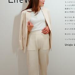 fashion/code/outfit/ユニクロ/ユニクロコーデ/UNIQLO/... こちらはユニクロの2020春夏のリネン紺…