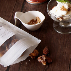 手作りおやつ/簡単レシピ/お家カフェ/手作り/ココナッツアイス/アイス/... 先日、この時期にぴったりなココナッツのア…(2枚目)