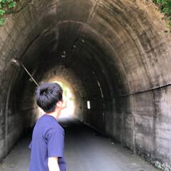 トンネル/海好き/令和元年フォト投稿キャンペーン/はじめてフォト投稿/おでかけ/旅行/... タイトルは、トンネルと僕です。 見たまん…