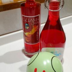 おすすめアイテム/至福のひととき 手作り赤紫蘇ジュースと、お気に入りのボト…