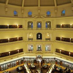 メルボルン/図書館/はじめてフォト投稿 メルボルン州立図書館