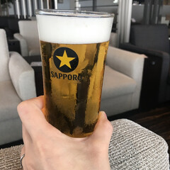 ビール/昼から/わたしのお気に入り とにかくビール。