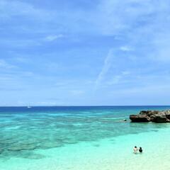 風景/沖縄/久高島/離島/夏/旅行/... 沖縄県本島の南部にある神の住む小さな離島…