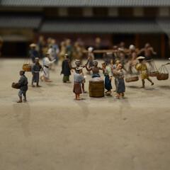 みんなにおすすめ/江戸東京博物館/両国駅/ジオラマ 江戸東京博物館のジオラマ写真 歴史を感じ…