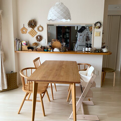 キャッシュレス還元 artek アルテック スツール 椅子 アアルト 60 バーチ | artek(スツール)を使ったクチコミ「我が家のダイニング。キッチン周りはお気に…」(1枚目)