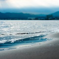北海道/浜/海辺/海/カメラ/写真/... 梅雨時期も、晴れ間を見つけて、海へ向かう…