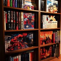 ブックカバー/bookcover/coverstory/本棚/本/収納/... 撮影用じゃなくて、最近の普段の本棚の様子。(1枚目)