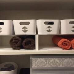 靴下収納/IKEA/タオル収納/ヴァリエラボックス/100円均/100円ショップ/... 我が家のパパの靴下は「ザックリ収納」。 …