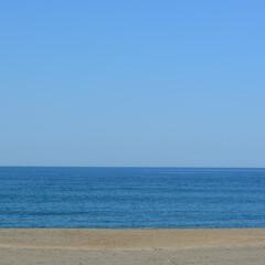 海/砂浜/青空/はじめてフォト投稿 晴天の太平洋  うみはテンションあがりま…