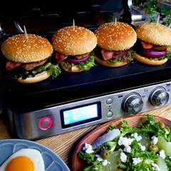 おうちごはん/手作り/休日ランチ/ハンバーガー/料理/ランチ/... 別アングルも何枚か♥️ 外は寒いけどおう…(3枚目)