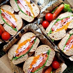 今日のお弁当/わたしのごはん/野菜たっぷり/作り置き/ランチボックス/ランチ/... 2019.6.28 ベーグルサンド弁当で…