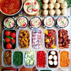 料理/冷凍保存/ランチ/野菜たっぷり/グラタン/毎日のごはん/... ⭐全粒粉プチパン ⭐シーチキンドリア ⭐…