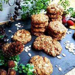 おやつ/手作りクッキー/手作りおやつ/手作りお菓子/ダイエット/ヘルシー/... オートミールクッキー✨ 作り置きからオー…