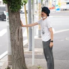 緑/木々/街並み/自然/おでかけワンショット