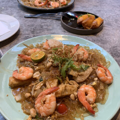 食事情 台湾で行ったタイ料理屋さん 多分一番辛く…(1枚目)