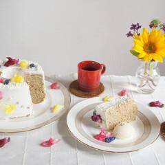 わたしのごはん/令和元年フォト投稿キャンペーン/LIMIAスイーツ愛好会/フォロー大歓迎/手作りお菓子/お菓子作り/... バニラアイス、紅茶と一緒に^^