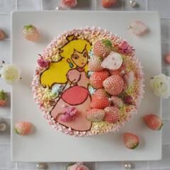わたしのごはん/令和元年フォト投稿キャンペーン/おやつタイム/LIMIAスイーツ愛好会/おうちごはんクラブ/手作りケーキ/... 今年の次女のバースデーケーキです^^