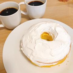 おうちカフェ 初めて彼のために焼いた シフォンケーキ …