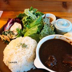 休日ランチ/ランチタイム/Cafe/カフェめし/ワンプレートごはん/東久留米市/... 地元のcafeで食べた、ランチプレート。…