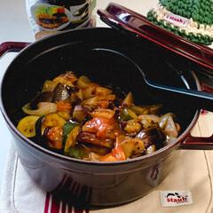ストウブ鍋/時短レシピ 名古屋味噌風味のラタトゥイユ