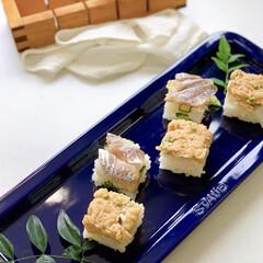 LIMIAごはんクラブ/わたしのごはん 穴子と鯵のの押し寿司