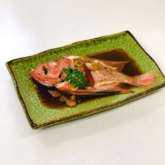 ストウブ鍋 金目鯛の煮付け
