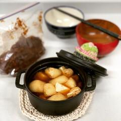 オパール毛糸/ストウブ鍋 手作り味噌で朝ごはん