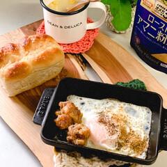 ディーンアンドデルーカ/手編み/ストウブ鍋/おうちパン ミニシュガーバタートップであさごぱん