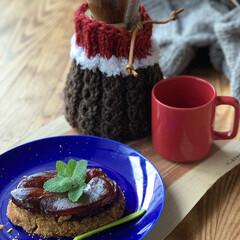 手編み/ストウブ鍋 りんご一個をキャラメリゼ 食べ切りサイズ…