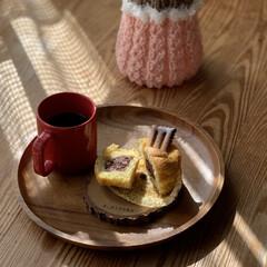 手編み/ケメックス 自家製発酵餡子でマフィン(1枚目)