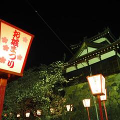 城/奈良/おでかけワンショット 奈良のお城祭りを撮りました