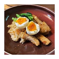 お晩酌/晩御飯/玄米/おうちごはん/丁寧な暮らし/台湾料理/... 昨日は魯肉飯風(笑) 豚バラ肉が高かった…
