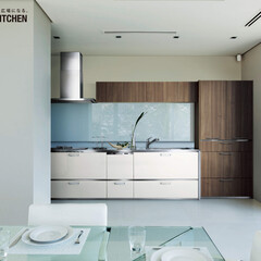 永大産業/EIDAI/欧州/リビングキッチン/インテリア/家具/... 欧州の家具を想わせる美しさを目指しました…