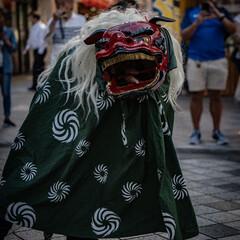 獅子舞/お散歩/Photo/おでかけワンショット ちょっと散歩がてら横須賀へ行ったらあたま…