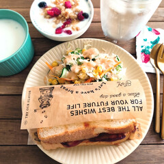 フォーク ダルトン カトラリー SVELTE CUTLERY デザートフォーク マットゴールド色 ステンレス シンプル 食洗機使用可 | DULTON(フォーク)を使ったクチコミ「先日の朝ごはん  何年ぶりかにホームベー…」