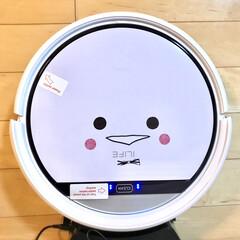 ILIFE アイライフ V3s Pro ロボット掃除機 ペットの毛に効果的 自動充電静音&強力吸引落下防止と衝突防止 丸型 ホワイト(ロボット掃除機)を使ったクチコミ「我が家の家族の一員  ロボット掃除機のピ…」