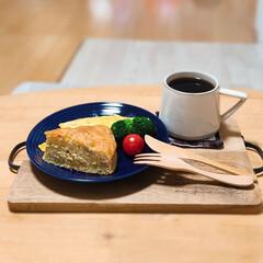 プレート/ダイナー/食器/ワンプレートごはん/ワンプレート/炊飯器ケーキ/... いつかの朝ごはん*  パンがない時に作る…