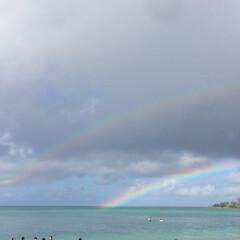 雨季ウキフォト投稿キャンペーン/虹/雨/沖縄 にわか雨の後に、、、